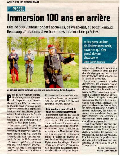 Courrier picard 14 04 14 1